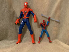"Hasbro Marvel Legends Spiderman Action Figure 2014/2010 Size Height 10 /6"" 2 lot"
