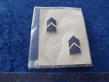(A33-2) US Rangabzeichen Metall Air Force Cadet 2ND Lieutenant 1/2 size