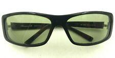 Vintage Blumarine Bm 956 31 Black Rectangle Sunglasses Italy Frames Only