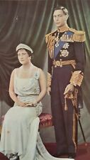 Picture of King George 6 & Queen Elizabeth, The Queen Mother, in Good Condition