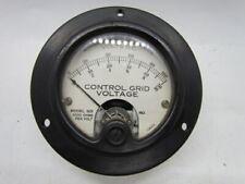 Vintage Weston Electric Instrument Meter Model 301 Control Grid Voltage 0-100