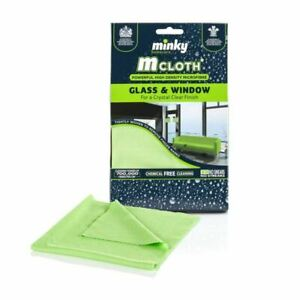 Minky M Cloth Glass And Window Microfibre Cleaning Cloth
