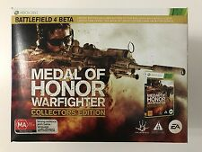 MEDAL OF HONOR WARFIGHTER COLLECTOR'S EDITION XBOX 360 XBOX360 GAME AUS *NEW*