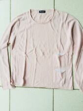 Pull saint james jersey coton modal rose taille 42 Neuf