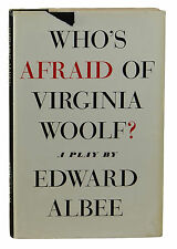 Who's Afraid of Virginia Woolf? ~ SIGNED by EDWARD ALBEE ~ First Edition ~ 1st