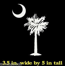 Palmetto Tree South Carolina Flag Window Decal Sticker Myrtle Beach