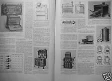 ARTICLE DE PRESSE 1929 RÉCHAUD GRIL ÉLECTRIQUE FOUR CUISINIÈRE APPAREILS MÉNAGER