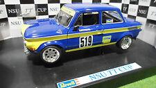 NSU TT CUP RACING #519 Bleu Helmut Kunz 1/18 REVELL 08458 voiture miniature