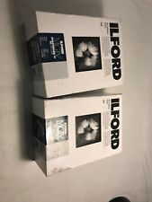 Ilford IV RC Deluxe Resin B/W Paper 5x7in, 250, Pearl #1771055 2-pack