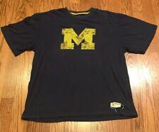 Mens RBK Reebok Heisman Michigan Wolverines NCAA Football T Shirt Med/Large