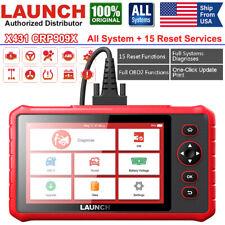 LAUNCH X431 CRP909X Automotive OBD2 Scanner Code Reader Car Wifi Diagnostic Tool