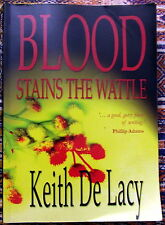 Blood Stains The Wattle Keith De Lacy Australian Mining Mt Isa 1960s Union