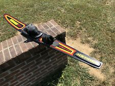 "63"" O'brien Alpha Centauri Graphite Slalom Water Ski Dual Boot"