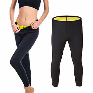 Unisex Neoprene Hot Body Accelerate Sweating Slimming Fitness Pants