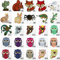 #3861R Animal Cartoon Children Kids Craft Embroidered Sew Iron On Patch Applique