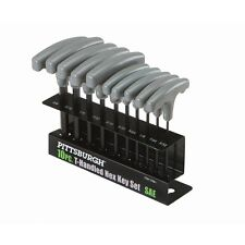 10 Piece SAE T Handled Allen Wrench Bit Hex Key Set