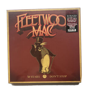 FLEETWOOD MAC - 50 YEARS DON'T STOP - 5 LP Box Set VINYL NEW ALBUM Rare Records