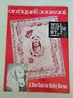 Antiques Journal 1971 Hobby Horses Valentines Masonic Jewels Flasks Desert Sands