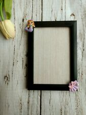 "Unicorn, Rainbow Marmaid And Shell Photo Frames 4x6"""