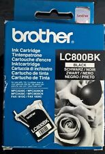 Genuine Brother Ink Cartridge LC-800bk Black