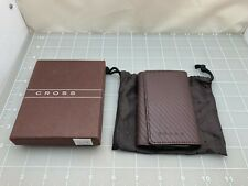 Judd's New in Box Brown Leather Cross Key Holder