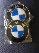 New Hood &Rear Emblem Badge E36 E39 E46 E90 M3  BMW 82-74mm USA Seller