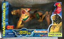 VINTAGE TRANSFORMERS BEAST MACHINES GIANT ELECTRONIC CHEETOR BOX NEW