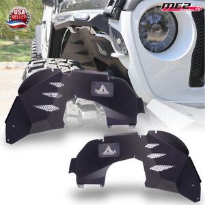 For 19-21 Jeep Wrangler JL/JLU and Gladiator JT Inner Front Fender Liners Set