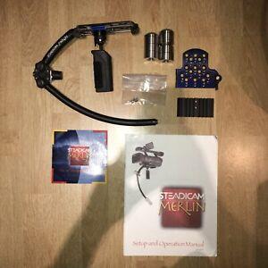 STEADICAM Merlin Gimbal: Professional Video Stabilizing System For DSLR w/ Case
