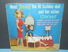 Vintage Doll Tressy Cricket Tammy Friend 1965 Record Majorette Lp Vinyl Album