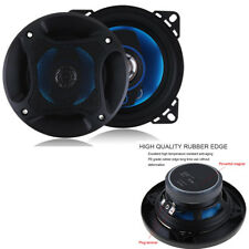 2x 4 Inch Car Auto Coaxial Horn 100W 90db 3Way HIFI Full Range Speaker Subwoofer