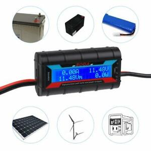 200A Power Analyzer&Watt Meter LCD Backlight for RC Battery Solar Wind Power New