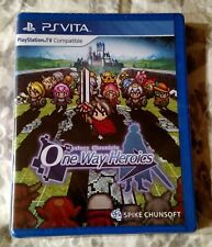 Mystery Chronicle One Way Heroics Limited Run Games #21 PlayStation Vita NEW