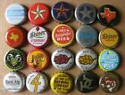 20 DIFFERENT TEXAS BREWS CURRENT/OBSOLETE MICRO CRAFT BEER BOTTLE CAPS