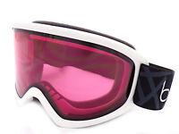 Bolle Freeze Ski Snowboarding Goggles White / Vermillon CAT.2  21877