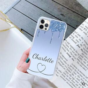 For Apple iPhone Samsung Huawei Personalised Ladies GEL Case Cover 164-4