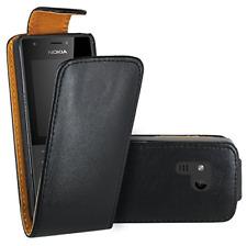 Nokia 216 Case, FoneExpert�'® Premium Leather Flip Book Case Cover for Nokia 216