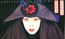 DONNA SUMMER 1989 ANOTHER PLACE AND TIME ORIGINAL PROMO POSTER