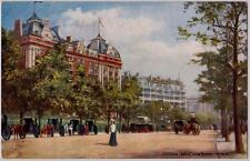 Lot 2 Raphael Tuck Oilette Postcards Cecil Savoy Hotels Thames at Coopers Hill K