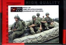 Hobby Fan 1/35 HF-515 USMC on LVTP-5 - 5 Figures (Sandbags not Included)