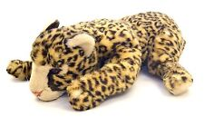 "Vintage French Aux Nations Plush, Lying Leopard-18""L."
