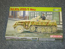 Dragon Models 1:35 German Sd.Kfz.250/1 Neu Model Kit #6427 '39-'45 Series