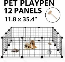 ALLISANDRO Small Pet Playpen, Small Animal Cage for Indoor Outdoor Use #6324