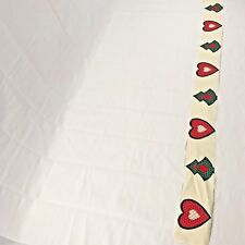 Springs Industries Christmas Patchwork Ornaments Fabric Red/Green Hearts/Trees
