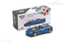 Pagani Huayra Roadster (RHD) - Blue Francia - MINI GT 1:64 - MGT00038-R