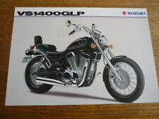 SUZUKI VS 1400 GLP MOTORBIKE BROCHURE, 1994 POST FREE (UK)