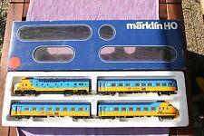 Märklin H0 3150 Triebwagenzug Northlander 4-teilig, TOP Zustand,