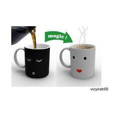 Good Morning Mug Color Changing Magic Coffee Cup Tea Porcelain Funny Unique Heat