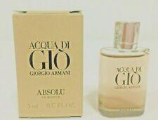 Acqua Di Gio Absolu By Giorgio Armani Men Eau De Parfum 5ml/0.17oz Sample Size