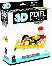 3D PIXEL PUZZLE - SUSHI - BRAND NEW - 31252